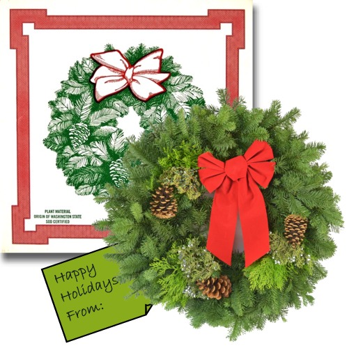Retail Order Program - Noble Fir Wreaths for Individual Sale